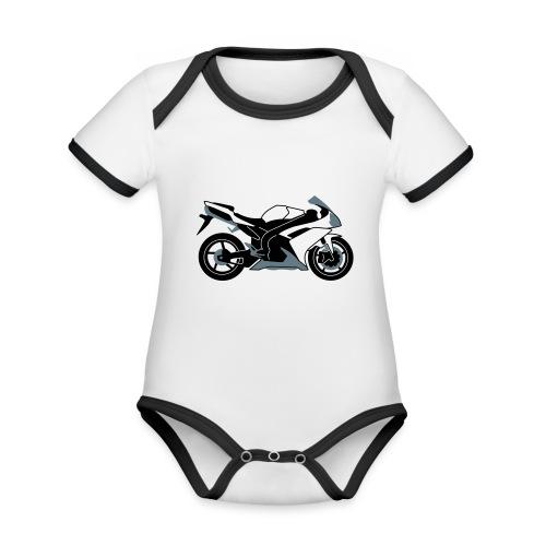 R1 07-on V2 - Organic Baby Contrasting Bodysuit