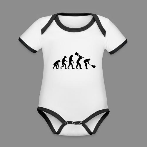 Evolution Rock - Body contraste para bebé de tejido orgánico