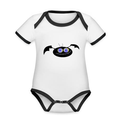 Spider (Vio) - Organic Baby Contrasting Bodysuit