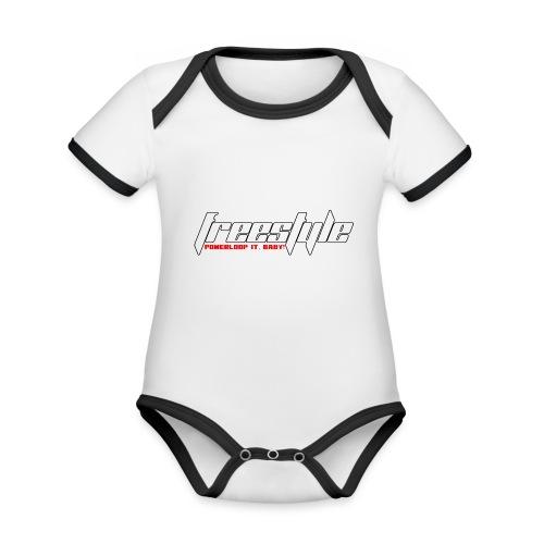 Freestyle - Powerlooping, baby! - Organic Baby Contrasting Bodysuit