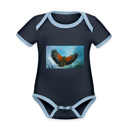 123supersurge - Organic Baby Contrasting Bodysuit