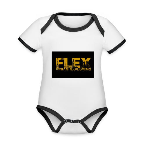 FlexUrban - Organic Baby Contrasting Bodysuit
