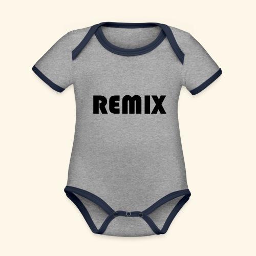 Remix - Body contraste para bebé de tejido orgánico