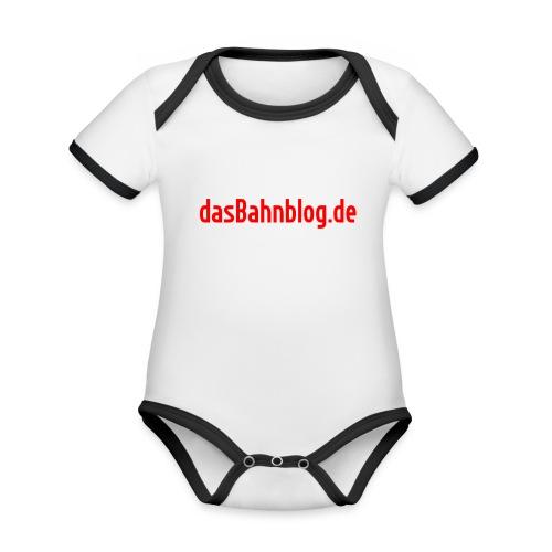 dasBahnblog de - Baby Bio-Kurzarm-Kontrastbody