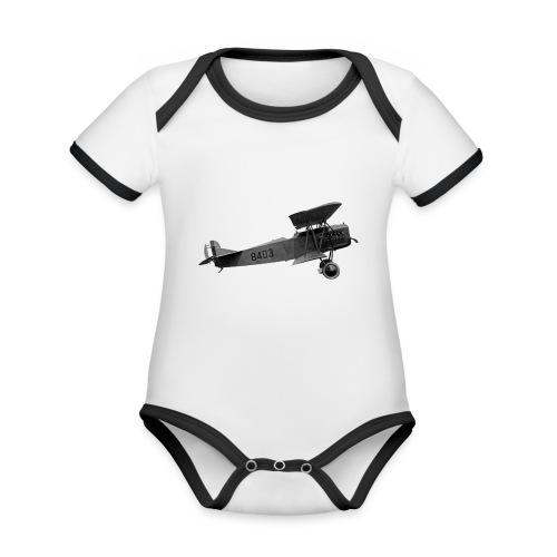 Paperplane - Organic Baby Contrasting Bodysuit