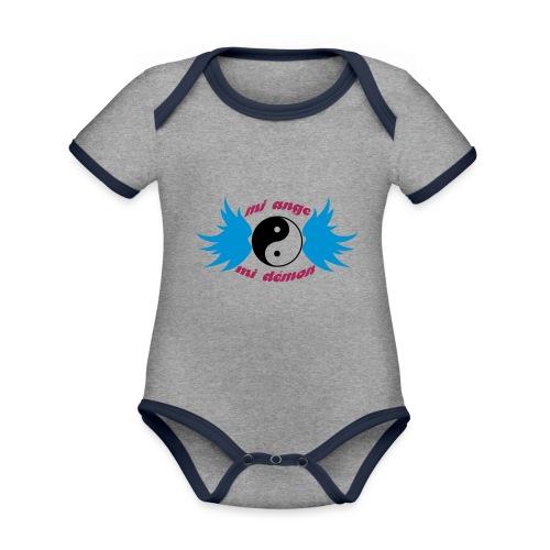 Débardeur Bio Femme Mi ange Mi démon - Organic Baby Contrasting Bodysuit