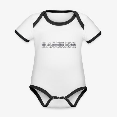 Metalkid Hamburg - Baby Bio-Kurzarm-Kontrastbody