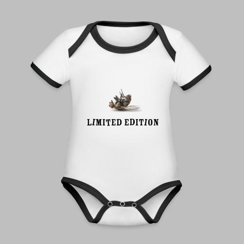Limited Edition - Baby Bio-Kurzarm-Kontrastbody