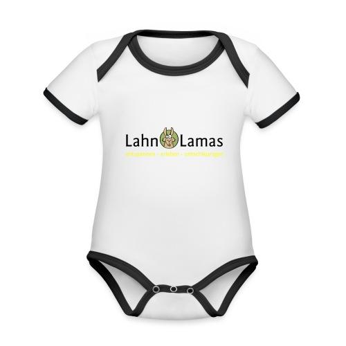 Lahn Lamas - Baby Bio-Kurzarm-Kontrastbody
