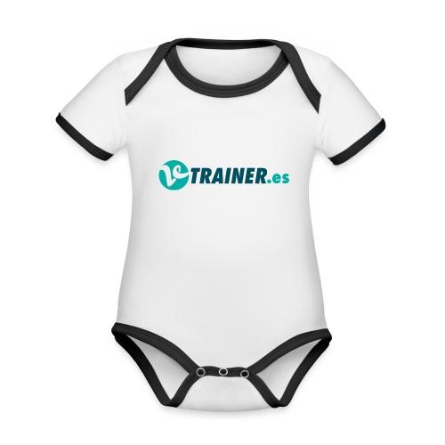 VTRAINER.es - Body contraste para bebé de tejido orgánico