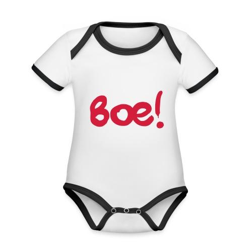 Boe Spruch - Baby Bio-Kurzarm-Kontrastbody