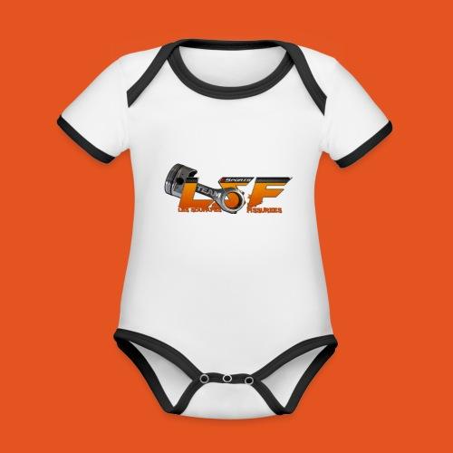 LSFlogo - Body Bébé bio contrasté manches courtes