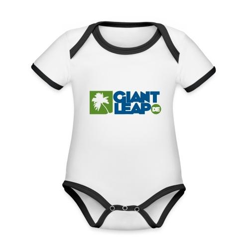 palme - Baby Bio-Kurzarm-Kontrastbody