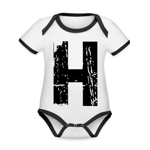h_28_days_later - Baby Bio-Kurzarm-Kontrastbody