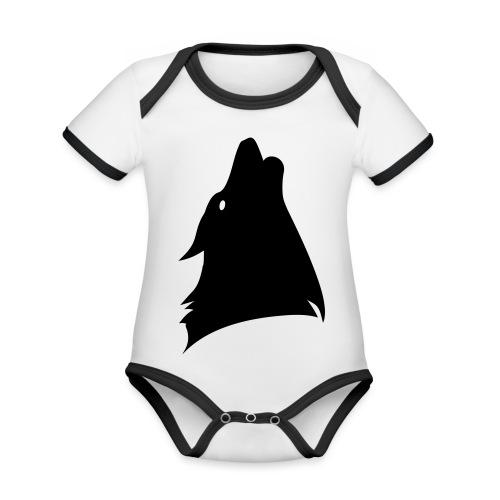 Wolfonics - Baby Bio-Kurzarm-Kontrastbody
