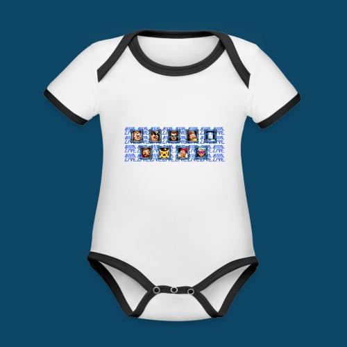 Benzaie LIVE - MUG - Body Bébé bio contrasté manches courtes