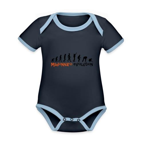 madonnaro evolution original - Organic Baby Contrasting Bodysuit