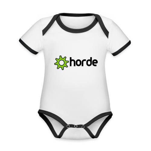 Polo - Organic Baby Contrasting Bodysuit