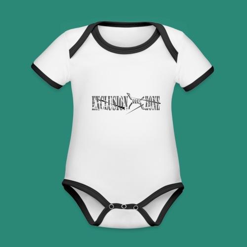 EXCLUSION ZONE - Baby Bio-Kurzarm-Kontrastbody