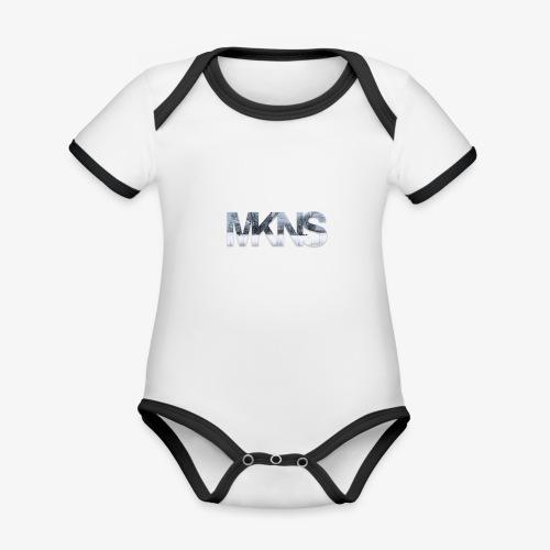 MKNS3 - Baby Bio-Kurzarm-Kontrastbody