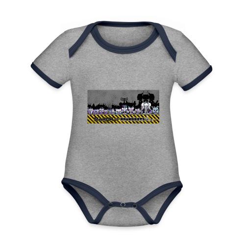 #MarchOfRobots ! LineUp Nr 2 - Kortærmet økologisk babybody i kontrastfarver
