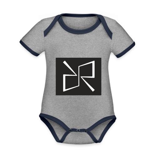 Rymdreglage logotype (RR) - Organic Baby Contrasting Bodysuit