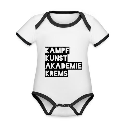 KKA 2016 lifestyle back2 - Baby Bio-Kurzarm-Kontrastbody
