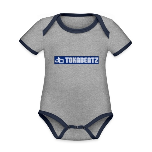 Vortecs-Toka - Baby Bio-Kurzarm-Kontrastbody