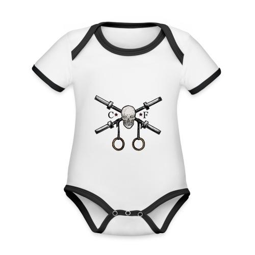 Crossfit Lifter - Body Bébé bio contrasté manches courtes