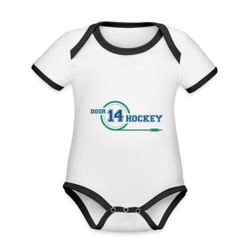 D14 HOCKEY - Organic Baby Contrasting Bodysuit