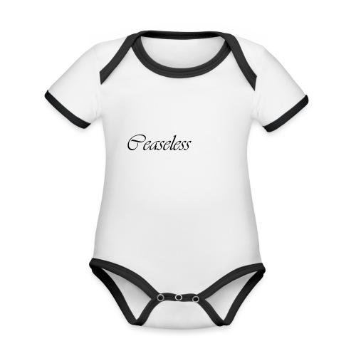 ceaseless - Organic Baby Contrasting Bodysuit