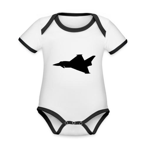 EF2000 Typhoon - Organic Baby Contrasting Bodysuit
