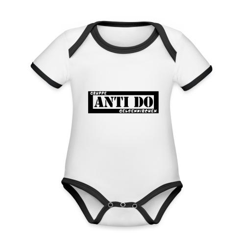 Anti Do - Baby Bio-Kurzarm-Kontrastbody