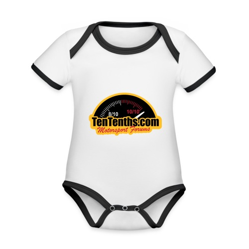 3Colour_Logo - Organic Baby Contrasting Bodysuit