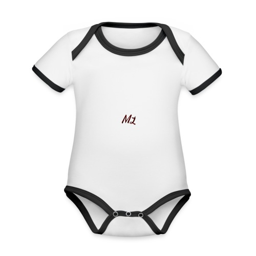 ML merch - Organic Baby Contrasting Bodysuit