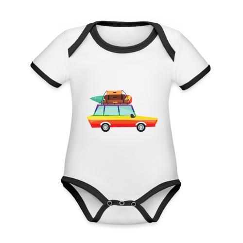 Gay Van | LGBT | Pride - Baby Bio-Kurzarm-Kontrastbody