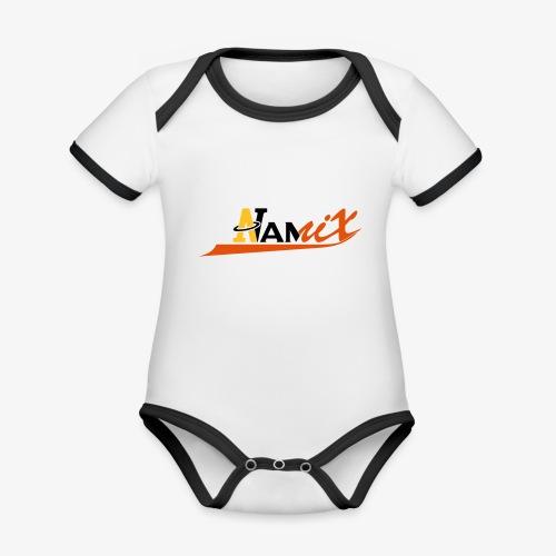 Namix - Body Bébé bio contrasté manches courtes