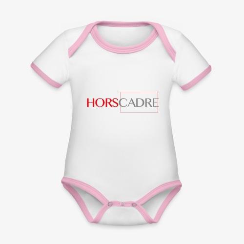 logoHC png - Body Bébé bio contrasté manches courtes
