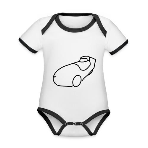 Leiba X-Stream - Baby Bio-Kurzarm-Kontrastbody