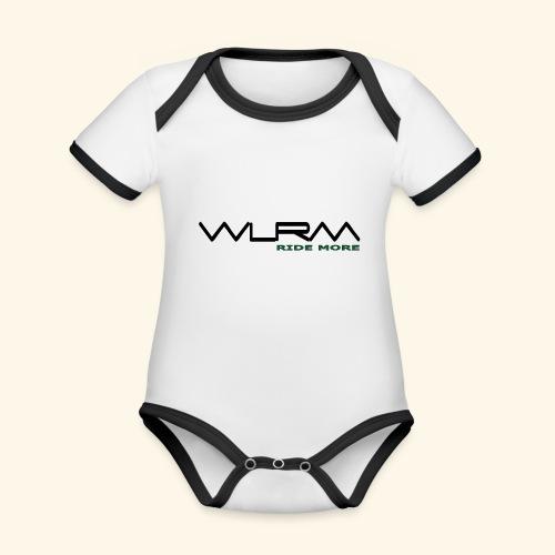 WLRM Schriftzug black png - Baby Bio-Kurzarm-Kontrastbody