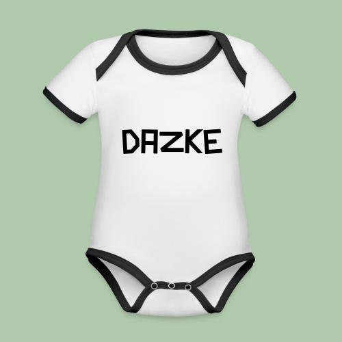 dazke_bunt - Baby Bio-Kurzarm-Kontrastbody