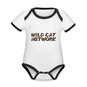 WildCatNetwork 1 - Organic Baby Contrasting Bodysuit