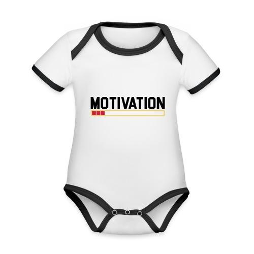 Keine Motivation - Baby Bio-Kurzarm-Kontrastbody