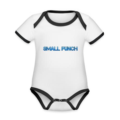 small punch merch - Organic Baby Contrasting Bodysuit