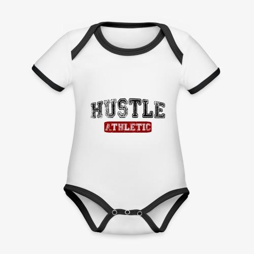 Hustle Athletic - Baby Bio-Kurzarm-Kontrastbody