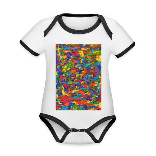 Color_Style - Body contraste para bebé de tejido orgánico
