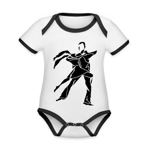 dancesilhouette - Organic Baby Contrasting Bodysuit