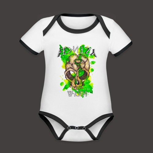 ALCHIMY: EARTH ELEMENT - Body Bébé bio contrasté manches courtes