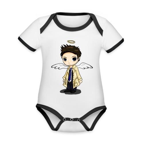 Team Castiel (dark) - Organic Baby Contrasting Bodysuit