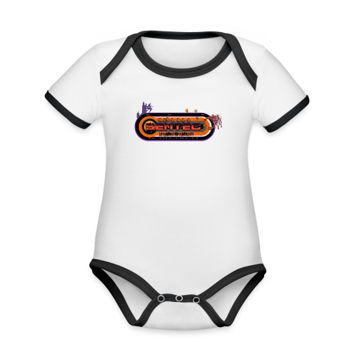 004 - Body contraste para bebé de tejido orgánico